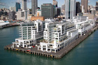 An apartment on Princes Wharf in Auckland was passed in at yesterday's auction. Photo/Richard Robinson