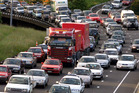 Congestion is set to peak from tomorrow as workers, students and commuters hit the roads. Photo / Derek Flynn