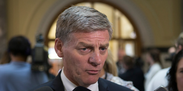 "Prime Minister Bill English said the policy ""is something we can look at"".  Photo / Mark Mitchell"