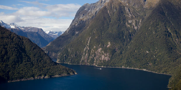 A 20-year-old French tramper lost in Fiordland was found by searchers around 1.30am today, and finally winched to safety by a Southern Lakes helicopter around 8.30am. Photo / File