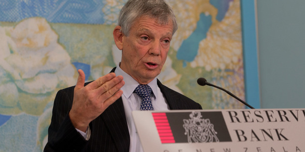 RBNZ governor Graeme Wheeler has reiterated his fears about the local housing market. Photo / Mark Mitchell