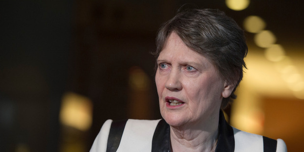 """Although Helen Clark was """"chatty"""" off air, once recording started she """"gave you very little"""" writes Jamie Mackay. Photo / Supplied."""