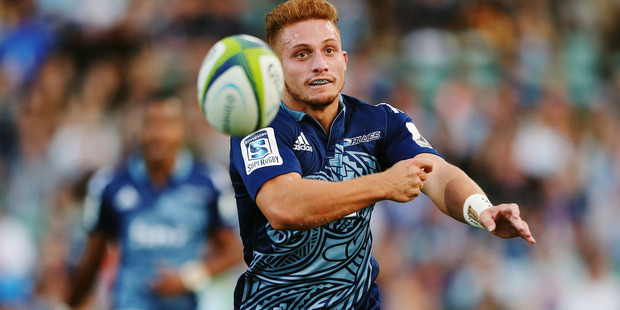 Loading Ihaia West's space-finding instincts and kicking skills will be under greater pressure against the Chiefs than they were in Melbourne. Photo / Photosport