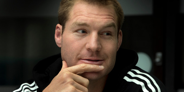 Ex-All Black has reportedly been arrested in Paris for allegedly trying to buy cocaine. New Zealand Herald photograph by Brett Phibbs