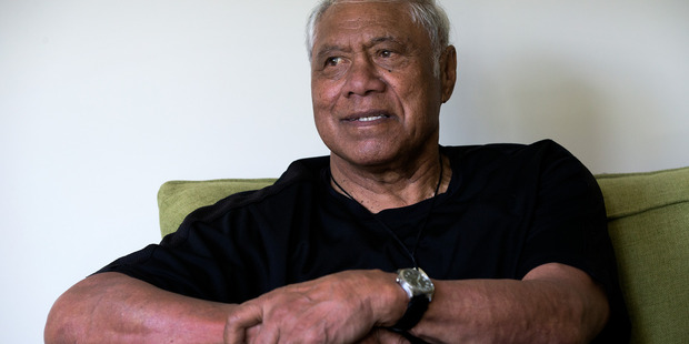 Former All Blacks loose forward legend Waka Nathan spoke to the Herald about his struggles with dementia. File photo / Brett Phibbs