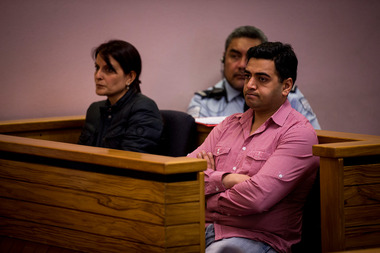 Joti Jain (left) and Rajwinder Grewal were sentenced over the immigration and exploitation of staff working at Masala restaurants. Photo / Dean Purcell