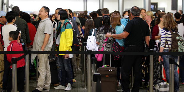 Loading Numbers for the year to January 31 showed a net migration gain of 71,300.