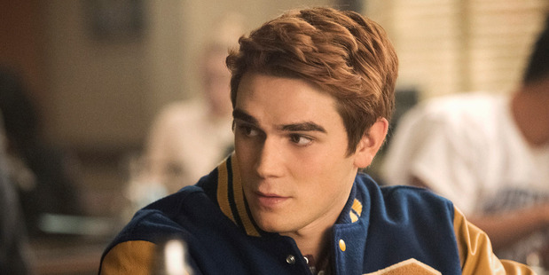 Kiwi KJ Apa as Archie Andrews in Riverdale. Picture /Dean Buscher