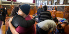 Formerly homeless girl know as B and her family received a karakia and farewell at Te Puea Marae last June. Photo / Jason Oxenham
