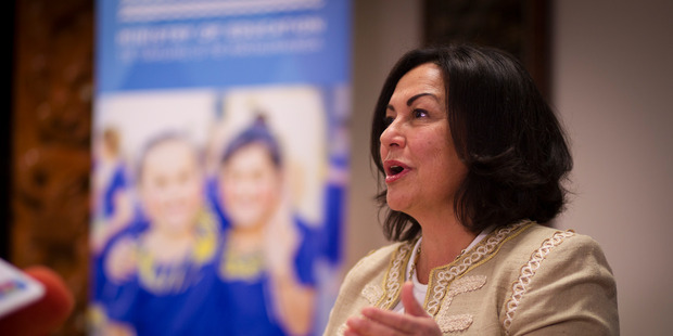 Education Minister Hekia Parata. New Zealand Herald Photograph by Dean Purcell