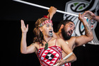 FINALIST: Te Arawa group Tuhourangi Ngati Wahiao put on a rousing performance in the finals. PHOTO/HAWKES BAY TODAY