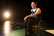 Disabled dancer Rodney Bell has overcome barriers to work; 14,000 more could join him if laws were changed, a study says. Photo/Jason Oxenham