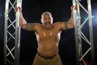 UFC heavyweight fighter Mark Hunt. Photo/Nick Reed.
