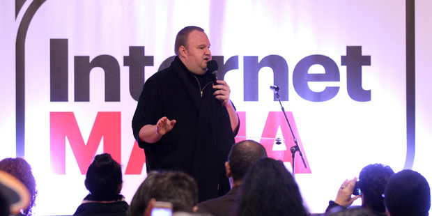 Kim Dotcom founded and funded the Internet Party. Photo / File