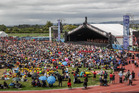About 50,000 people came to watch the world's largest kapa haka festival at the Hawke's Bay Regional Sports Park from Thursday to Sunday. Photo/Paul Taylor