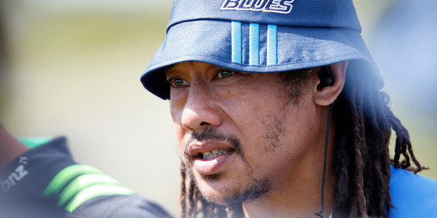 Blues coach Tana Umaga admitted to mistakes last year. Photo / Michael Cunningham