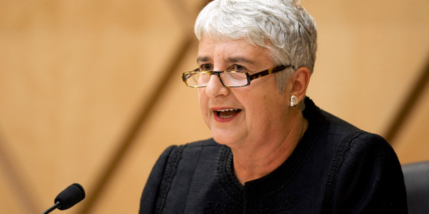 The Right Honourable Chief Justice Dame Sian Elias presided over the hearing in the Supreme Court yesterday. Photo / File