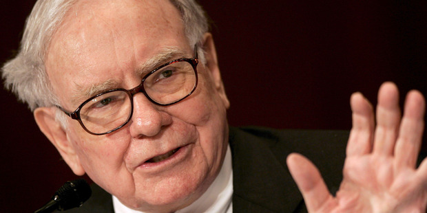 """US-Investor Warren Buffett praised the country's market system for its ability to allow Americans to continue building """"mind-boggling amounts"""" of wealth. Photo / Supplied"""