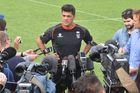 New Warriors head coach Stephen Kearney has always been wary of the media which makes him seem an intense character. Photo / Getty Images