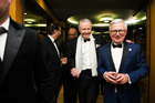 Actor Jon Voight and New Zealand Ambassador to the US Tim Groser at a Gala dinner in Washington. Picture /Joy Asico