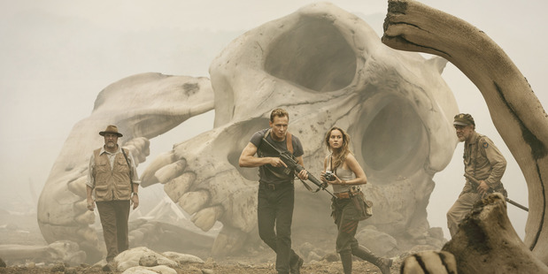 A scene from Kong: Skull Island.