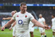 Dylan Hartley's move to copy the All Blacks is further evidence of England's relentless drive to topple New Zealand as the No 1 side in the world. Photo / Mark Leech