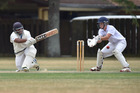 WBHS' Chamodh Peiris was on form with the bat against Kamo in the Oxford Trust Two Day competition. Photo/Paul Rickard