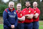 British & Irish Lions coaching team, including head coach Warren Gatland (left). Photo supplied.