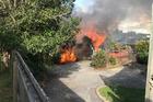 Pandora Ave house fire. PHOTO/SUPPLIED