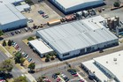 An elevated view of 67 Dalgety Drive depicting the 10,699sq m industrial site. Photo / Supplied