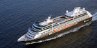 The Azamara Journey is a mid-sized cruiser with room for 600 passengers.