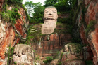 Leshan's giant Buddha is 73m tall, the tallest in the world. Photo / 123RF