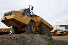 A Caterpillar construction vehicle. Photo / Getty Images