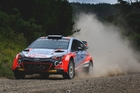 New Zealand rallying ace Hayden Paddon's team will make a full assault on the national championship. Photo /  Simon Chapman