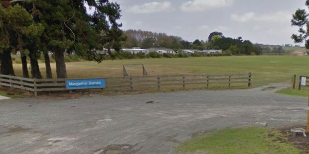 A member of the public found a body at the Mangawhai Domain this morning.