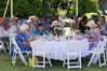 Guests enjoying the Presbyterian Support East Coast's Celebration and fundraising garden party at the Enliven Centre last year.