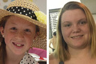 A search was conducted for Abigail Williams (left) and Liberty German in the Deer Creek area in Carroll County, Indiana, after being missing for almost 24 hours. Photos / Facebook
