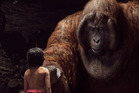 WINNERS: Paul Story of Weta Digital says most of the studio's Oscar-winning work on The Jungle Book was based around King Louie (above with Mowgli).