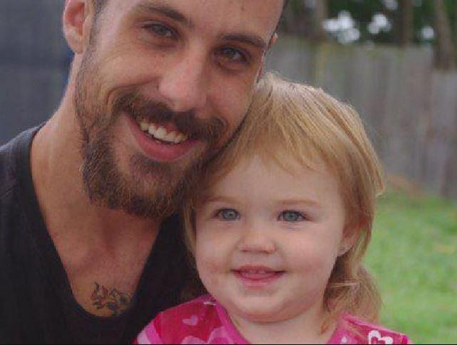 Kyhesha-Lee, with her dad Matthew Williamson. Photo / Supplied