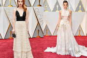 Emma Roberts and Hailee Steinfeld stun on the Oscars red carpet. Photos / Getty