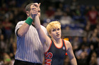 Mack Beggs is a transgender wrestler who won the Class 6A girls state championship in Cypress, Texas. Photo / The Washington Post