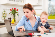 Working mothers earn much less than working dads. Photo / 123RF