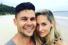 The happy couple share their special news. Photo / Instagram