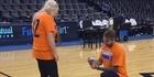Watch: Watch: Kiwi proposal at Thunder game