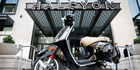 In Denver, HALCYON offers Vespas as an amenity. Photo / HALCYON