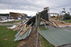 The present storm in Northland has similar destructive power to ex-Tropical Ita, which caused mayhem in the South Island in 2014. PHOTO/GREYMOUTH STAR