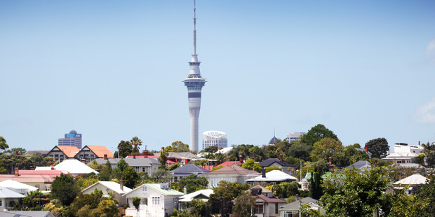 Auckland has become a buyer's market for the first time since February 2011 according to realestate.co.nz. Photo / Doug Sherring