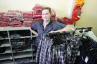Raylee Blair with just some of the new stock the shop has taken on.