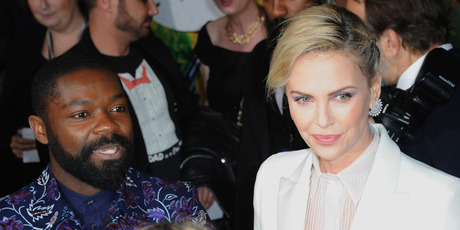 Actor David Oyelowo and actress Charlize Theron arrive for the Premiere Of Amazon Studios And STX Films' 'Gringo'. Photo / Getty Images