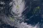 Satellite image showing Cyclone Hola over Vanuatu earlier this week. Photo / supplied, JMA